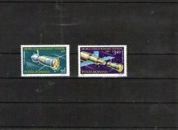 1981 INTERCOSMOS SPATIALE ROM-SOV. P.AERIENES 267/268 - 1948-.... Republiken