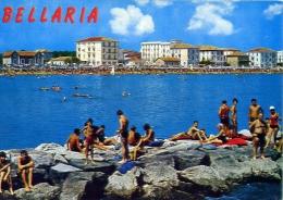 Bellaria - Scogliere - 7411 - Formato Grande Viaggiata - Rimini