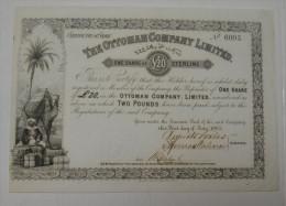 The Ottoman Company Limited, 1865, Tres Déco - Banque & Assurance
