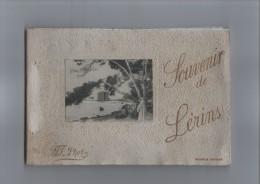 Lerins. Cannes. Souvenir De Lerins. Abbaye De Saint-Honorat.Livret Souvenir.Carnet De 22 Cartes Postales. - Cannes