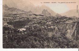 REUNION 19 CILAOS VUE GENERALE PRISE DU BELVEDERE  1935 - La Réunion