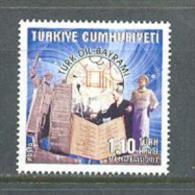 2013 TURKEY TURKISH LANGUAGE FESTIVAL MNH ** - Nuevos