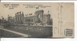 TP 81 Roulette De Gand En 1910 Tarif Imprimé S/CP Publicitaire Comment S´habiller V.E/V PR1837 - Precancels