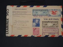 Lot De 60 Lettres - Période 1900/1970 à étudier Fortement - Recommandés, Censure, Par Avion, Etc...- Lot 4072 - Timbres