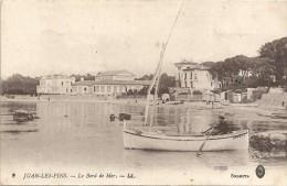 JUAN LES PINS  - 06 - Le Bord De Mer  - VAN - - Autres Communes