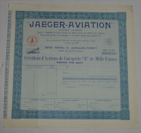 Jeager Aviation à Levallois Perret - Aviation