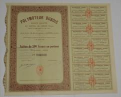 Polymoteur Dubois à Asnieres - Aviation