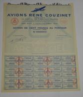 Avions René Couzinet à Levallois Perret - Aviation