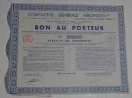 Cie Générale Aéropostale - Aviation