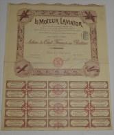 Le Moteur Laviator - Aviation
