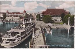 Allemagne,GERMANY,deutsch Land,BADE WURTEMBERG,KONSTANZ,bateau,port