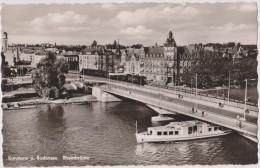 Allemagne,GERMANY,deutsch Land,BADE WURTEMBERG,KONSTANZ,bateau,pont
