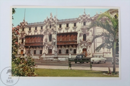 Postcard Peru - Lima, Archbishop´s Palace - Perú