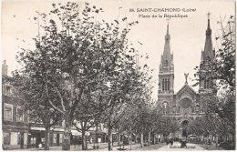 42. SAINT-CHAMOND. Place De La République. 88 - Saint Chamond