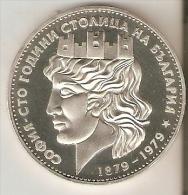MONEDA DE PLATA DE BULGARIA DE 20 LEBA DEL AÑO 1979  (COIN) SILVER-ARGENT - Bulgaria