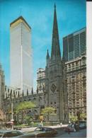 NEW-YORK - CITY - Trinity Church - Wall Street
