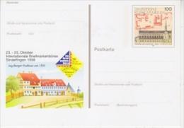 Germany  1998 Börse Sindelfingen Postal Stationery / Postcard  Kloster Maulbronn Unused (F19990) - [7] West-Duitsland
