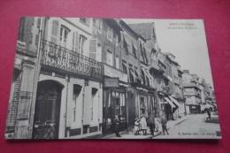 Cp  Pont L Eveque Grande Rue St Michel - Pont-l'Evèque