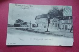 Cp Courseulles Sur Mer Place De Caen - Courseulles-sur-Mer