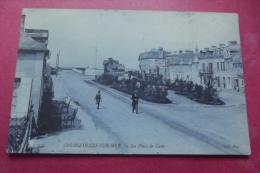 Cp  Courseulles Sur Mer La Place De Caen - Courseulles-sur-Mer