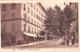 CPA-20-corse-Bastia-animée Boulevard Paoli Cap 18 - Bastia