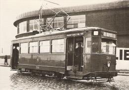 Charleroi : TEPC 12 April 1935 -- Motrice Série 300 --- Tram - Charleroi