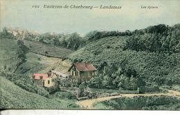 N°4471A -cpa Environs De Cherbourg -Landemer-les Ajoncs - Cherbourg