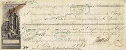 Prima-Wechsel 1853 - DUSSELDORF - ROBERT KIEFFER & C° - Verein Zur Verbreitung Religiöser Bilder - Allemagne