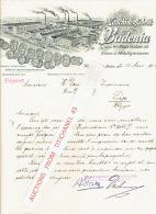 Brief 1908 WEINHEIM, Baden - STUTTGART - Maschinenfabrik BADENIA, Vorm. Platz Söhne AG - Eisen-& Metallgiesserei - Non Classés