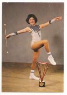 Bas Rhin - 67 - Reichstett - Valérie Perego Championne De France Majorettes Twirling Baton 1977/78 Capitaine - Autres Communes