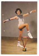 Bas Rhin - 67 - Reichstett - Valérie Perego Championne De France Majorettes Twirling Baton 1977/78 Capitaine - France