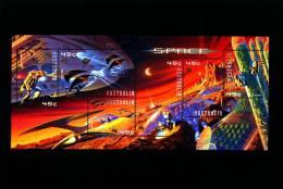 AUSTRALIA - 2000  SPACE  MS    MINT NH - Blocchi & Foglietti