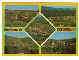 CPM Retournac, Et Environs, Lingoustre, Charrées, Vousse, Sarlanges - Retournac