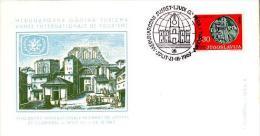 MON 2 - YOUGOSLAVIE FDC ANNEE DU TOURISME 1967 - 1945-1992 République Fédérative Populaire De Yougoslavie