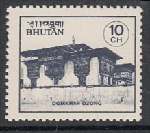 BHUTAN 1984  Monasteries,  Religion, Buddhism, 10 Ch Domkhar Monastery,  MNH(**) - Buddismo