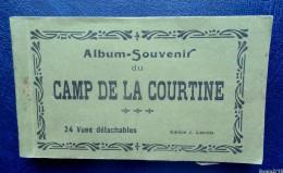 23 - CAMP DE LA COURTINE -  ALBUM SOUVENIR -  CARNET COMPLET 24 CPA - Unclassified