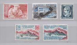NOUVELLE CALEDONIE N° 296 298 299 300 301 (o) (YT) CENTENAIRE POSTE ET TIMBRE - Nouvelle-Calédonie
