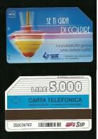 316 Golden - Trottola Se Ti Gira Di Colpire Lire 5.000 30_06_95 Sip - Italia