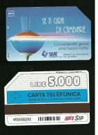 318 Golden - Trottola Se Ti Gira Di Cambiare Da Lire 5.000 30_06_95 Sip - Italia