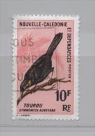 NOUVELLE CALEDONIE N° 350 (o) (YT) OISEAU TOUROU - Nouvelle-Calédonie