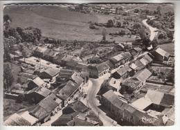 ST THIEBAULT 52 - Vue Aérienne Sur Le Centre Du Village - CPSM Dentelée Noir Blanc GF 1954 - Haute Marne - Autres Communes