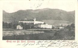 AK 0075  Gruß Aus St. Paul Im Lavanttal - Motiv Um 1905 - Wolfsberg