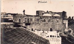 Carte Photo Israel , Vue Sur Tiberias ..fortifications , Habitations - Israel