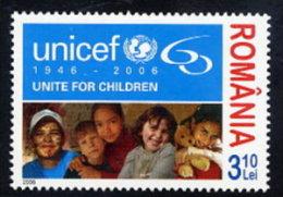 ROMANIA 2006 UNICEF 60th Anniversary MNH / **.  Michel 6156 - 1948-.... Republics