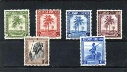 RUANDA URUNDI 1943 *