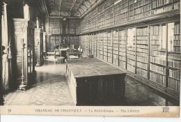 Bibliothèque - Chateau De Chantilly - Bibliothèques
