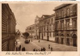 CALABRIA-VIBO VALENTIA CORSO UMBERTO  I   ANIMATA  VEDUTA ANNI 30 - Vibo Valentia
