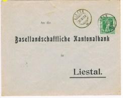 L4/1. EP Privé Basellandschaftlice Kantonalbank  Ziefen 20.11.09 - Ganzsachen