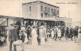 QUEND-PLAGE - Gare Terminus - Quend