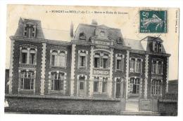 (2966-62) Monchy Au Bois Mairie Et Ecole Des Garçon - Frankrijk